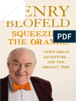 Squeezing the Orange - Henry Blofeld - extract