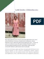 Ladik Katalin_A láthatatlan utca_Litera, 2013.07.16