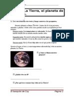 TEMA1 La Tierra El Planeta de La Vida