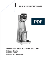 Manual Batidora