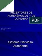 009 Receptores adrenérgicos y de dopamina (1)
