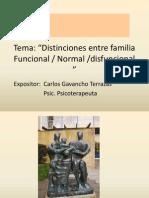 Disfunciones Familiares Carlos Gavancho