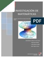 Investigación de matemáticas