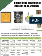 Protomastro - Cuál es el futuro de la gestión de los residuos electrónicos en la Argentina