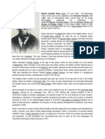 Patrick Lafcadio Hearn, a brief bibiliography