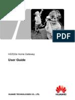 HUAWEI HG532e User Manual%28V100R001 03%2CEnglish%2CBridge%29