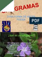 CALIGRAMAS -.ppt