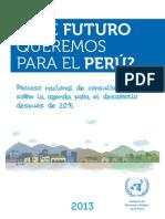Qué Futuro Queremos para el Perú - Agenda para el desarrollo post 2015 (Imprenta 20 sept).pdf
