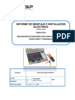 Instalacion de Sistema de Comunicación Sonoros y Audiovisuales