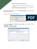 Tutorial Ip-fixo Usuario-Aluno Le3