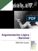 Argumentación Lógica - Racional