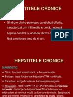Hepatite Cr. Curs
