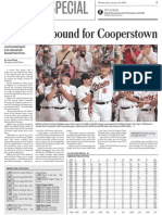 Cal Ripken Elected to Hall of Fame story for The Examiner.