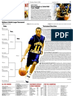 Baltimore Catholic League basketball tournament preview for The Examiner.