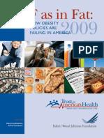 Levi etal 09 - F as in Fat-Obesity Policies in US