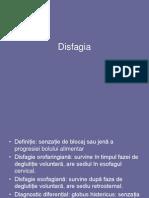 Disfagia, BRGE, E.barret, Achalazia