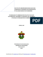 Contoh Makalah Komunikasi Politik