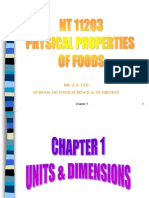 physical prop of foods