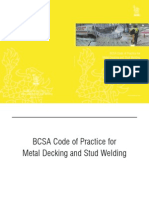 BCSA Code of Practice for Metal Decking and Stud Welding