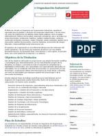 Grado en Ingeniería de Organización Industrial _ Universidad a Distancia de Madrid