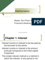 Financial Mathematics Chapter1