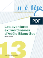 LES AVENTURES EXTRAORDINAIRES D'ADÈLE BLANC-SEC     -      Study guide in French