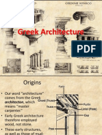 Greek Architecture -1
