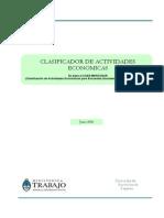Clasificador Actividades Economicas Ministerio.pdf