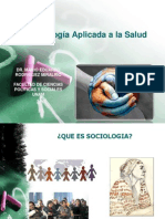 Sociología Aplicada a la Salud