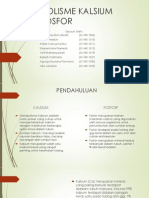 Metabolisme Kalsium Dan Fosfor