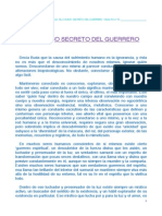 El Camino Secreto Del Guerrero m.p. 2012 PDF