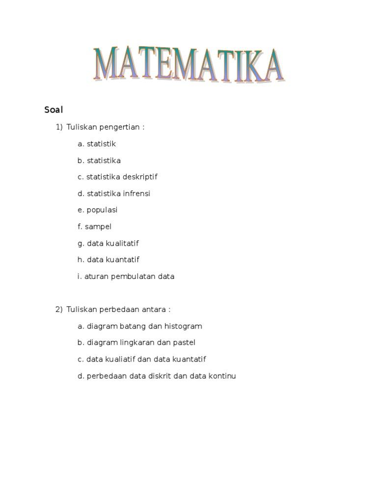 Tugas matematika ccuart Images