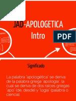 JADpologética I