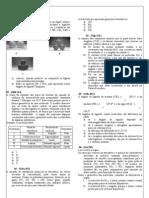 lista de exercícios - geometria e forças intermoleculares