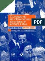 Cronología de las intervenciones extranjeras en América Latina- 1899-1945 Escrito por Gregorio Selser