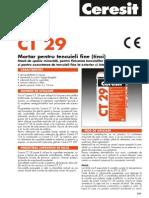 CT 29 Fisa Tehnica