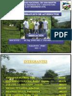 DISEÑO HIDRAULICO DE ACUEDUCTOS