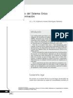 SUA. Manual básico del Sistema Único de Autodeterminación