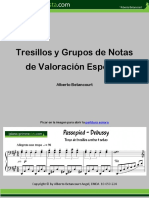 Tresillos y Grupos de valoración especial