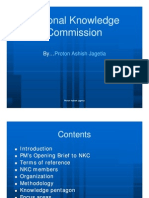 15.National Knowledge Commission-Proton Ashish Jagetia