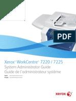 Guia de Administrador de Sistema Xerox 7220