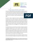 IPIE salario mínimo en Paraguay