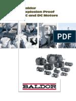 Br454 Baldor Motores a Prueba de Explosion Ac-dc