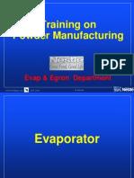 Evaporator Presentation