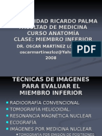 Extra Clase - Radiologia Miembro Inferior - Dr. Martinez