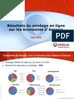 Résultat sondage économies d'énergie.ppt