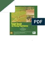 Tanah Sawah Dan Teknologi Pengelolaannya(1)