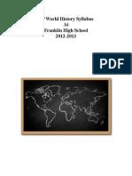 ap world history course syllabus