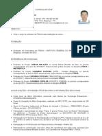 Curriculum Marcelo Professor