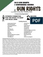 28th Annual Gun Rights Policy Conference Agenda
